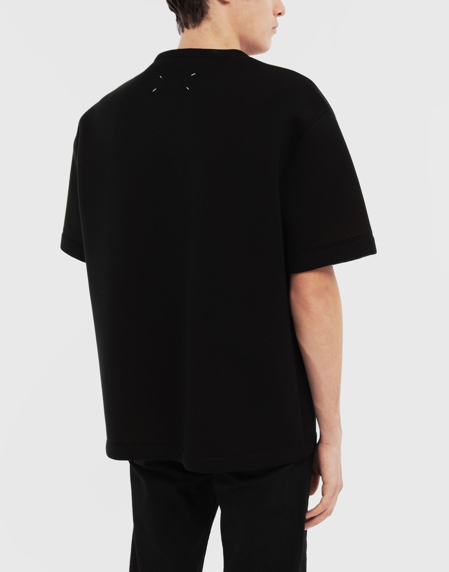 MAISON MARGIELA Scuba oversized top Short sleeve t-shirt Man e