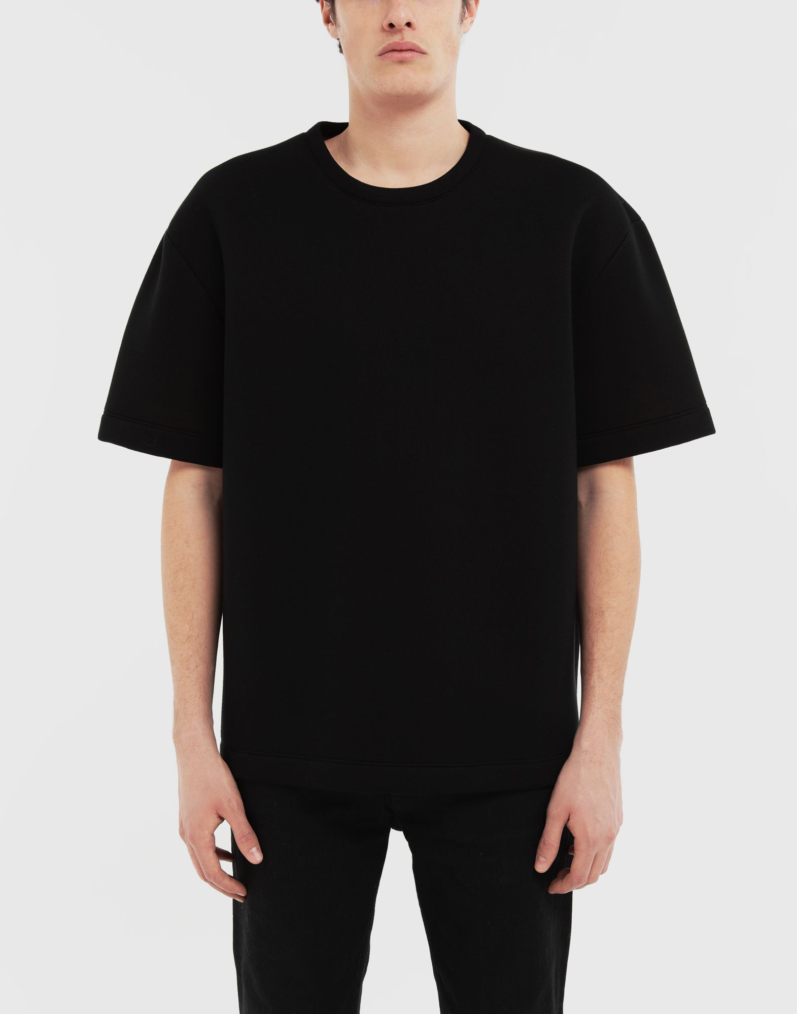 MAISON MARGIELA Scuba oversized top Short sleeve t-shirt Man r