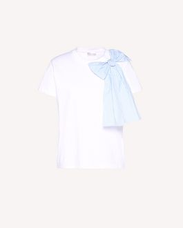 REDValentino Bow detail t-shirt