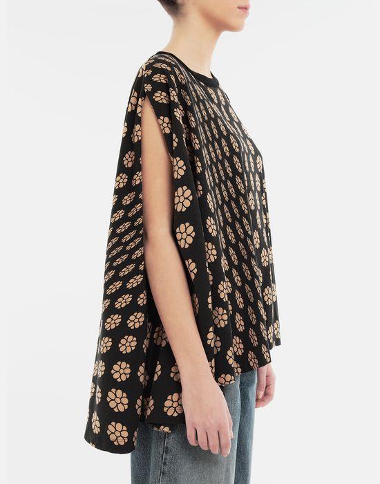 MM6 MAISON MARGIELA Polka dot flower-print jersey shirt Short sleeve t-shirt [*** pickupInStoreShipping_info ***] b