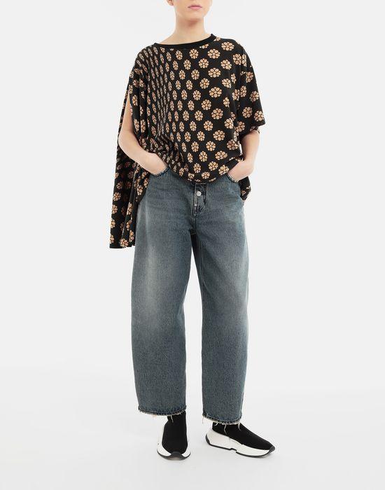 MM6 MAISON MARGIELA Polka dot flower-print jersey shirt Short sleeve t-shirt [*** pickupInStoreShipping_info ***] d