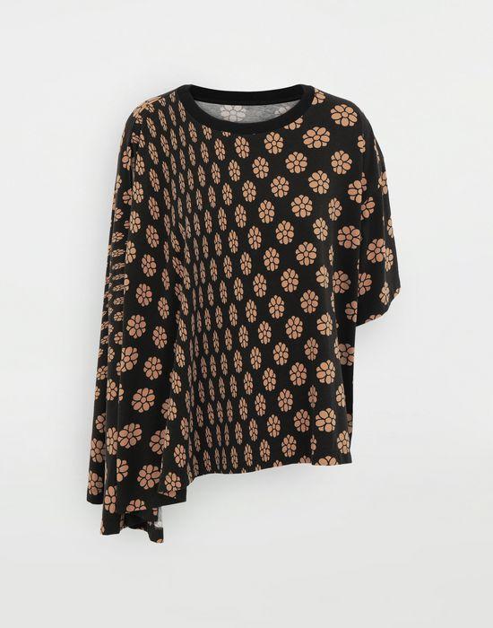 MM6 MAISON MARGIELA Polka dot flower-print jersey shirt Short sleeve t-shirt [*** pickupInStoreShipping_info ***] f