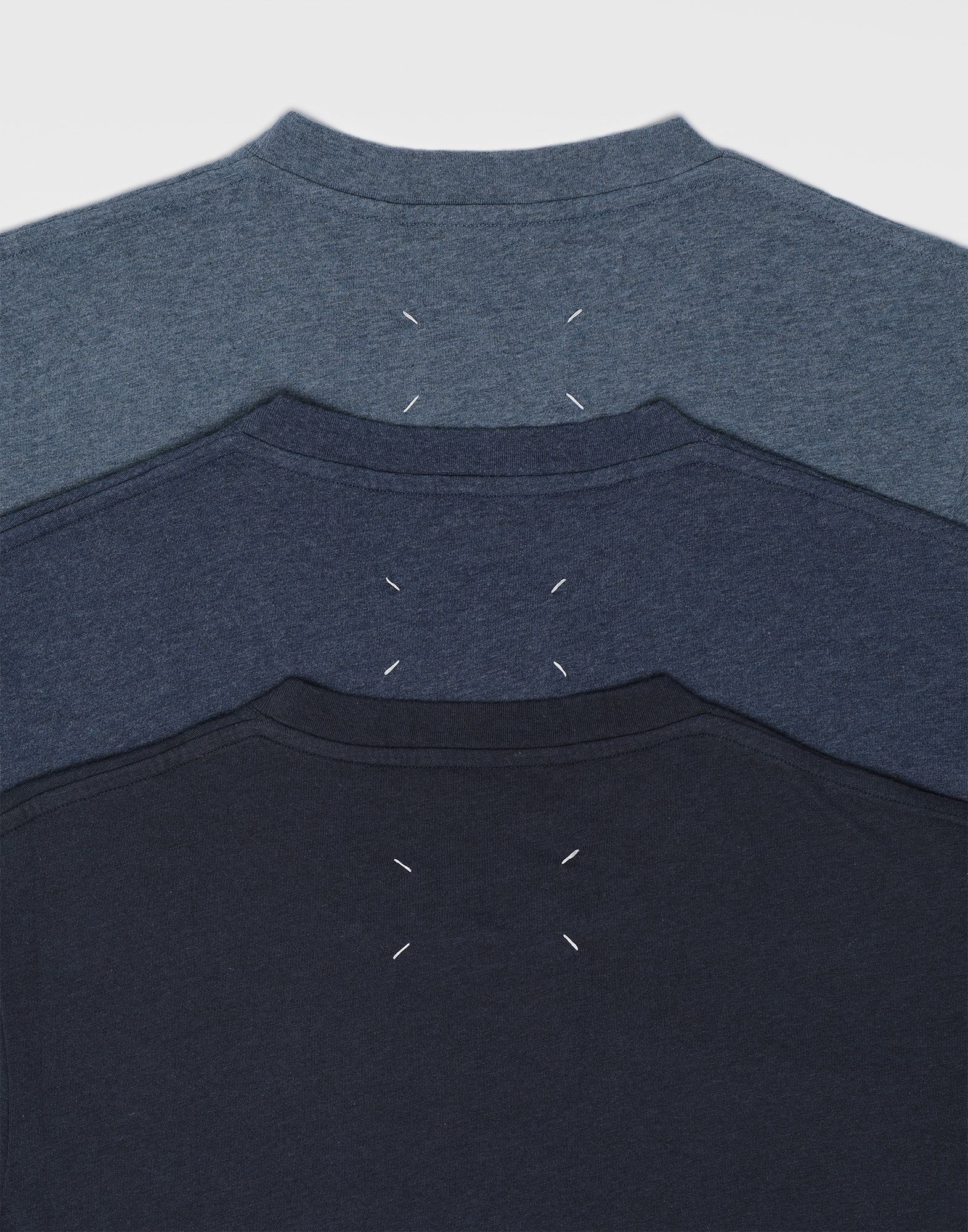 MAISON MARGIELA 3er Pack T-Shirts Stereotype Kurzärmliges T-Shirt Herren a