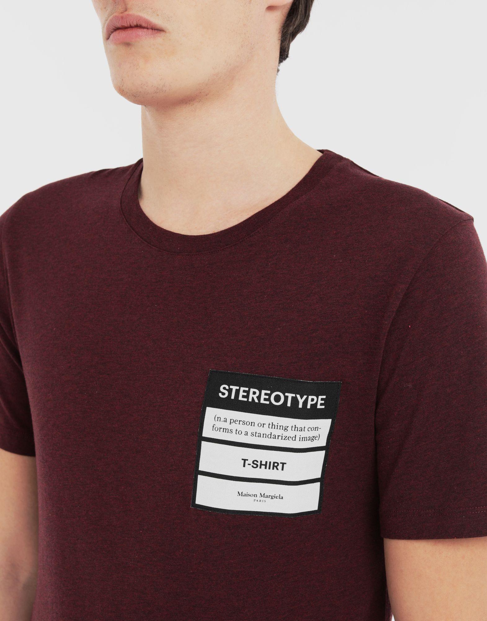 MAISON MARGIELA Camiseta Stereotype Camiseta de manga corta Hombre a