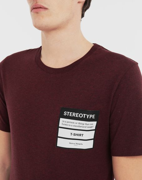 MAISON MARGIELA Stereotype T-shirt Short sleeve t-shirt Man a