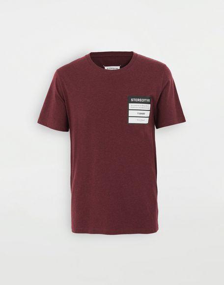 MAISON MARGIELA Camiseta Stereotype Camiseta de manga corta Hombre f