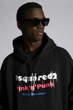 DSQUARED2 Pink'n'Punk Hooded Sweatshirt Sweatshirt Man