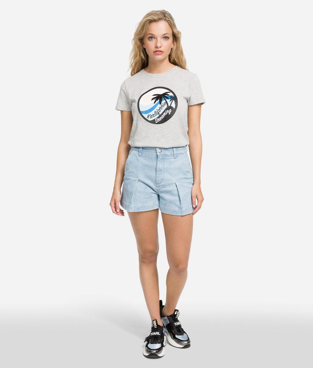 KARL LAGERFELD T-shirt imprimé K/Karlifornia T-shirt Femme f