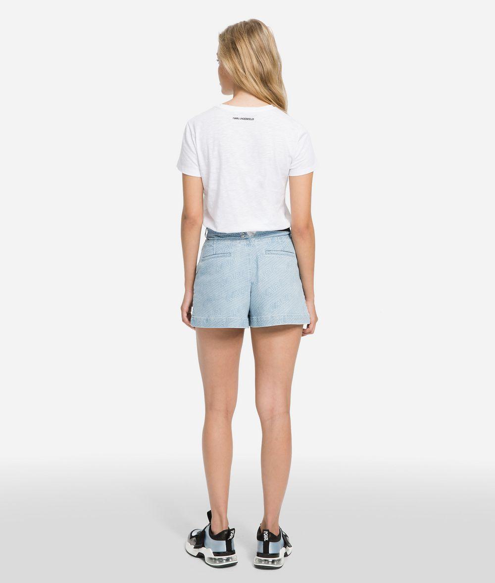 KARL LAGERFELD K/Karlifornia Printed T-Shirt T-shirt Woman d