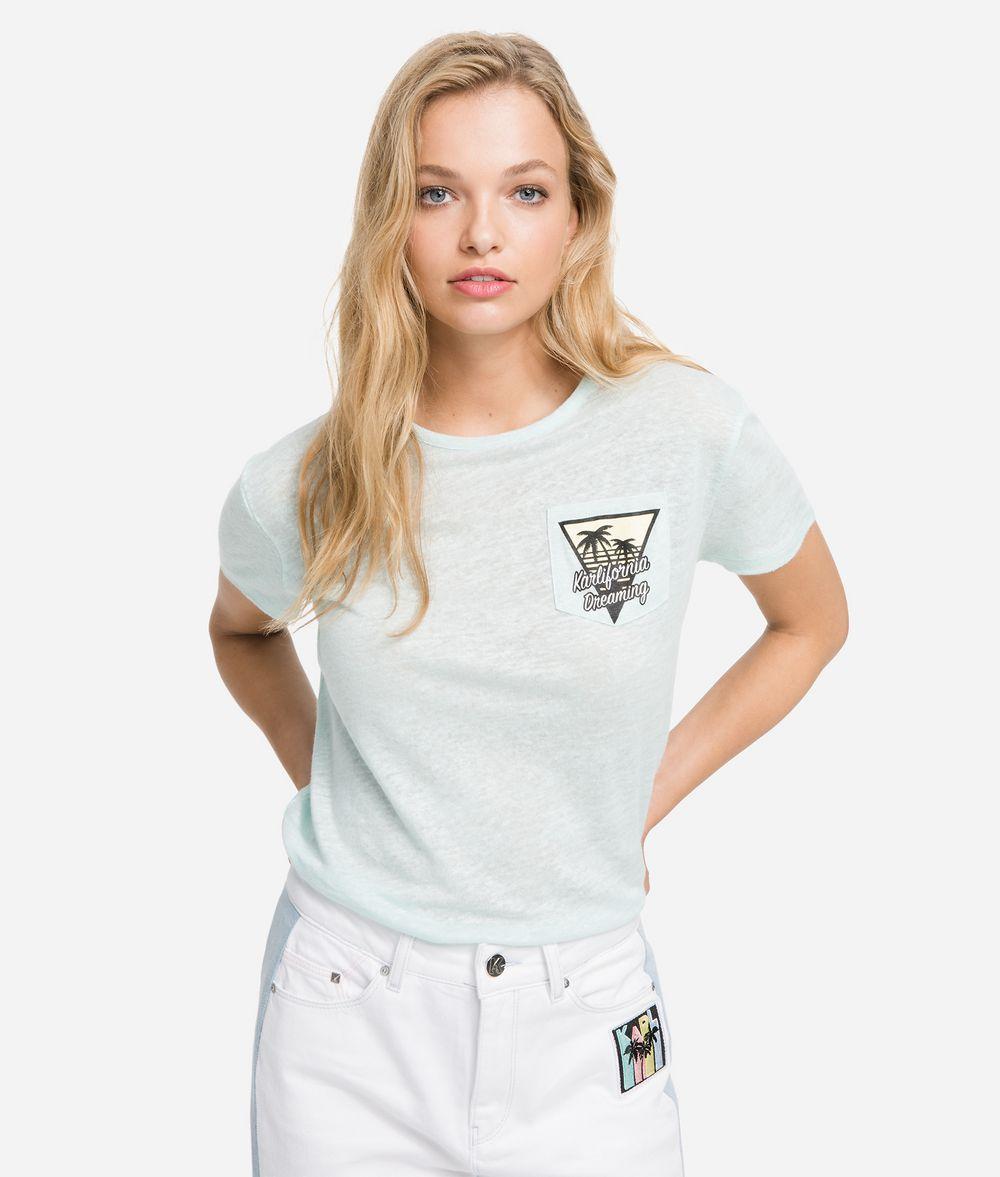 KARL LAGERFELD T-shirt à poche K/Karlifornia T-shirt Femme f