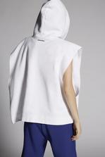 DSQUARED2 Mert & Marcus 1994 x Dsquared2 Sleeveless Slouch Hooded Sweatshirt Sweatshirt Woman