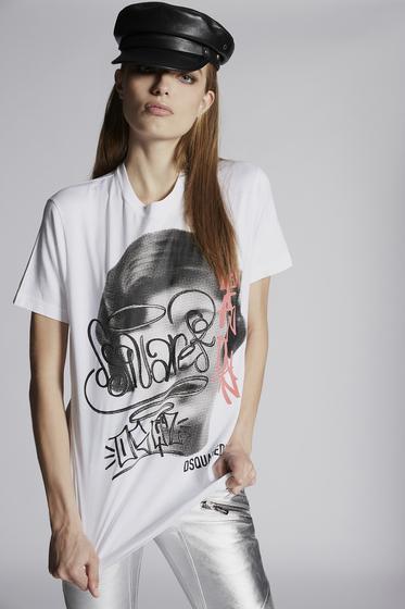 DSQUARED2 Short sleeve t-shirt Woman S72FZ0066STN878961 m