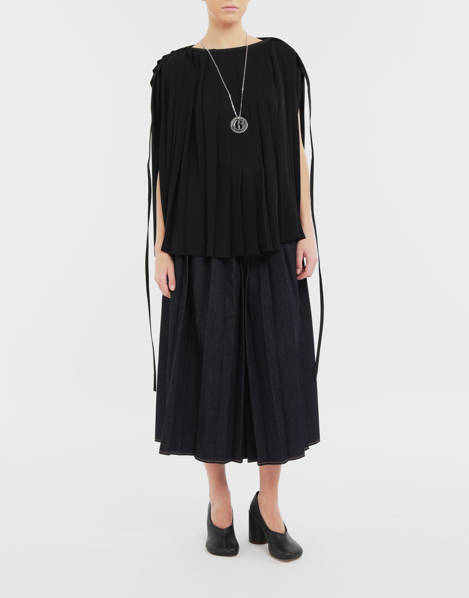 MM6 MAISON MARGIELA Pleated top Top Woman d