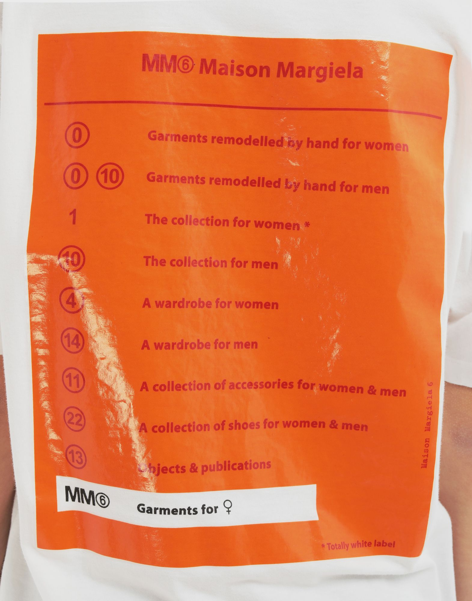 MM6 MAISON MARGIELA Back logo print T-shirt Short sleeve t-shirt Woman b