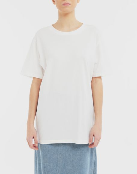 MM6 MAISON MARGIELA Back logo print T-shirt Short sleeve t-shirt Woman r