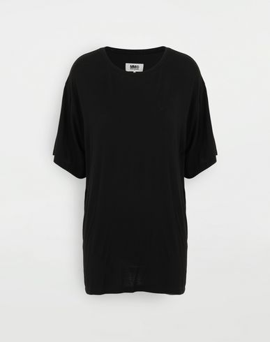 MM6 MAISON MARGIELA Oversize-T-Shirt Kurzärmliges T-Shirt Damen f