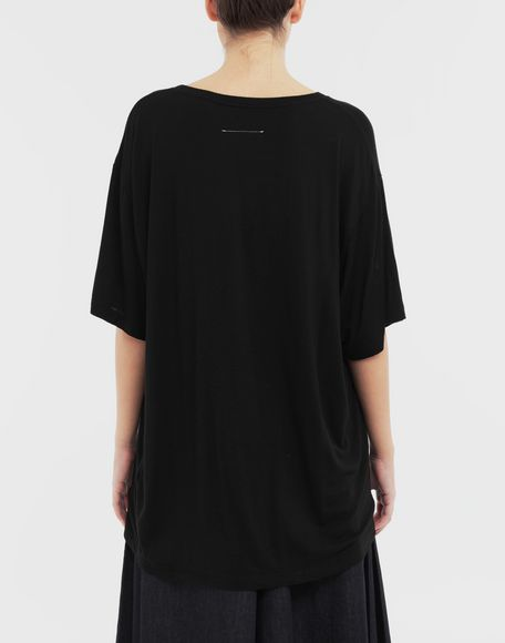 MM6 MAISON MARGIELA Oversized T-shirt Short sleeve t-shirt Woman e