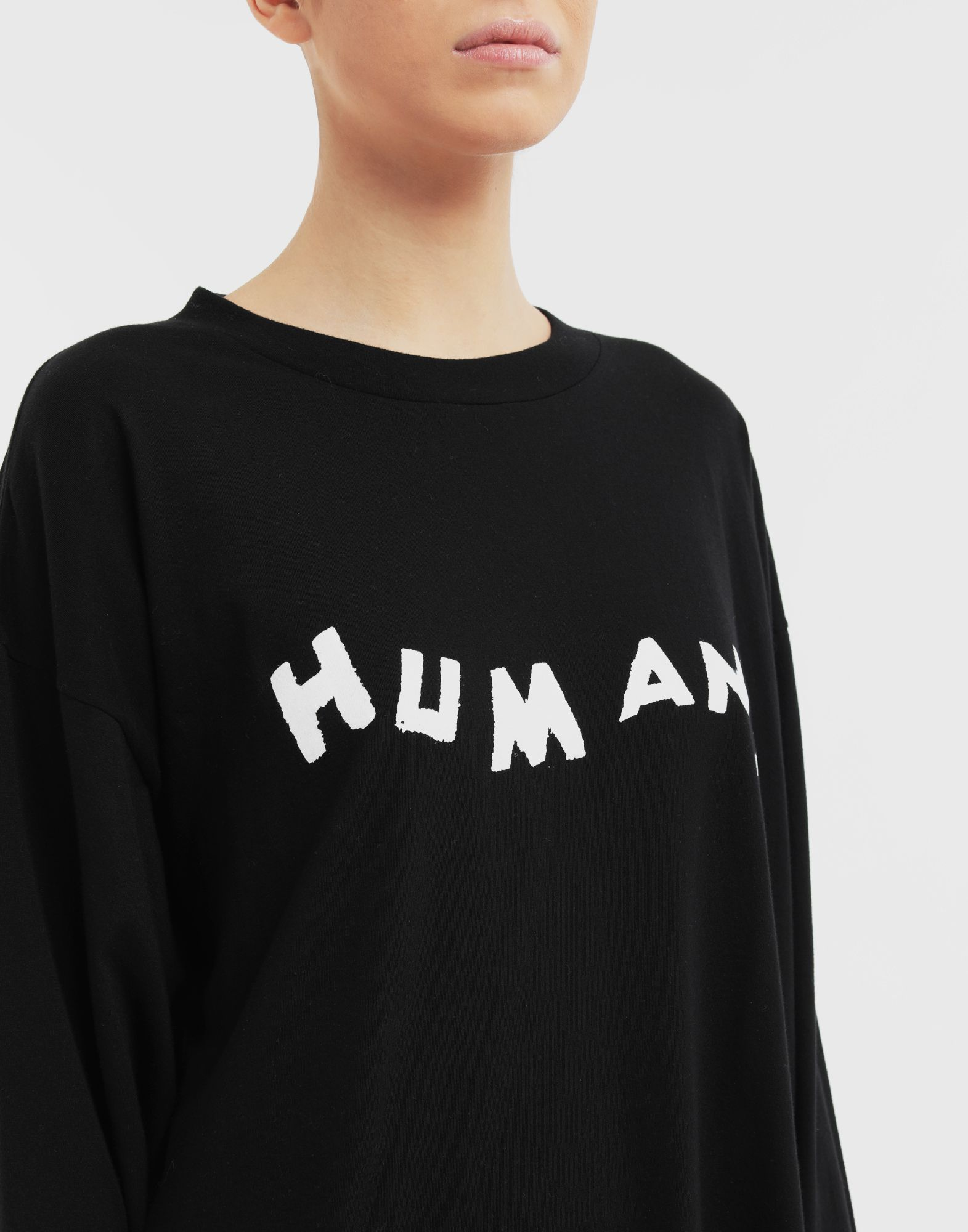 MM6 MAISON MARGIELA Sudadera 'Humans' Camiseta de manga larga Mujer a