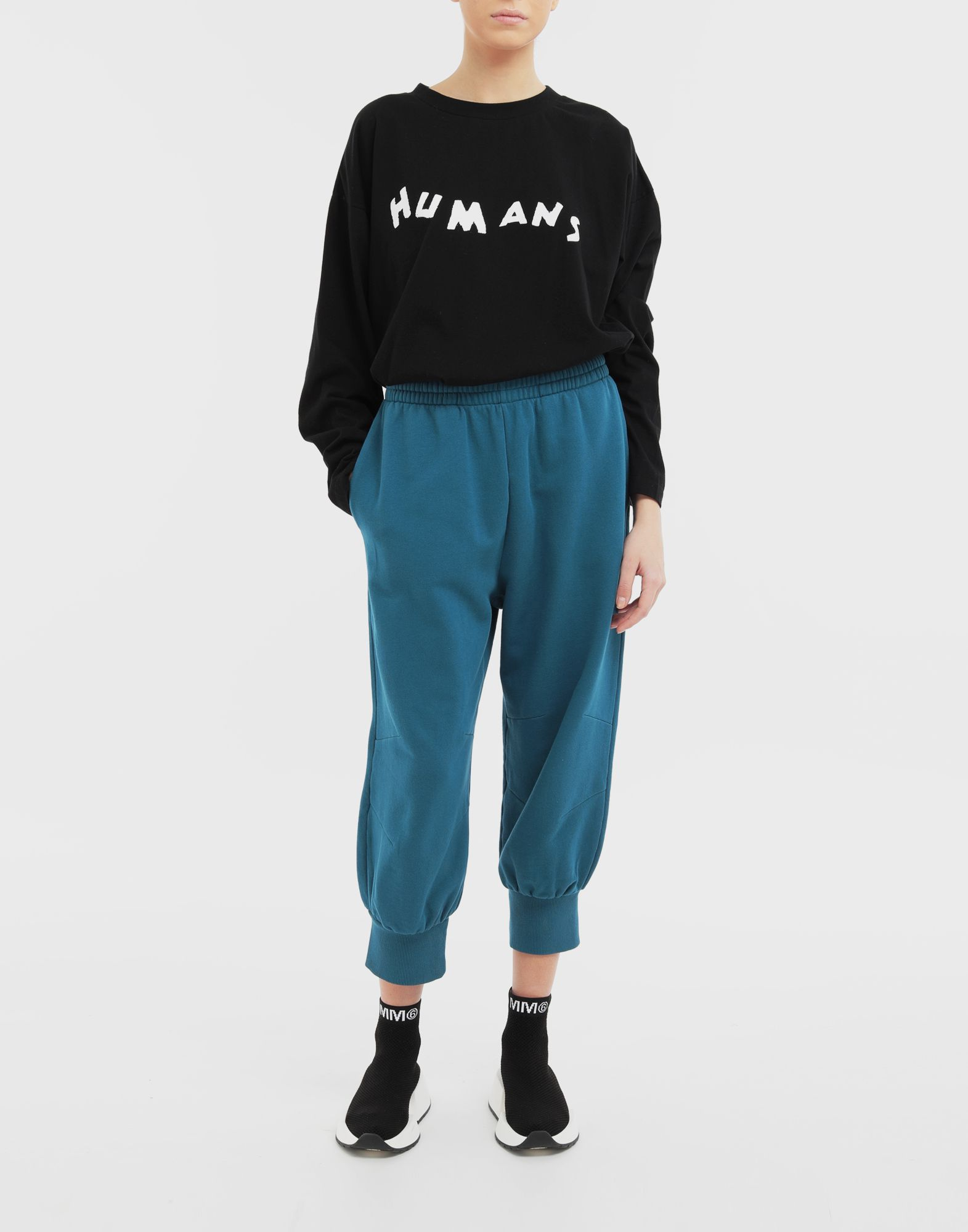 MM6 MAISON MARGIELA 'Humans' sweatshirt Long sleeve t-shirt Woman d