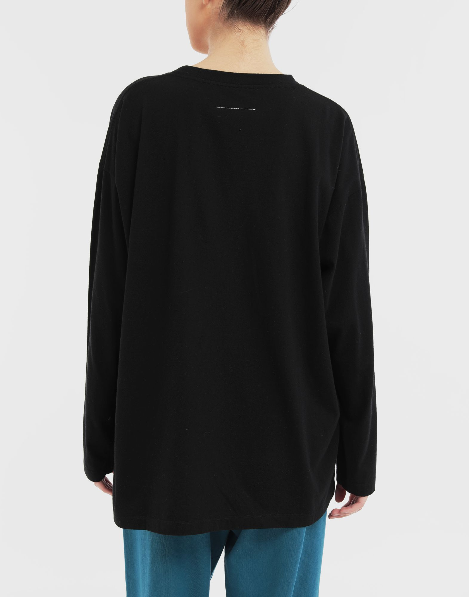 MM6 MAISON MARGIELA 'Humans' sweatshirt Long sleeve t-shirt Woman e