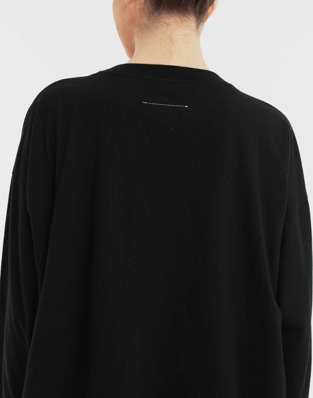 MM6 MAISON MARGIELA 'Humans' sweatshirt Long sleeve t-shirt Woman b