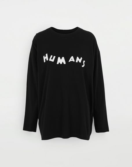 MM6 MAISON MARGIELA 'Humans' sweatshirt Long sleeve t-shirt Woman f