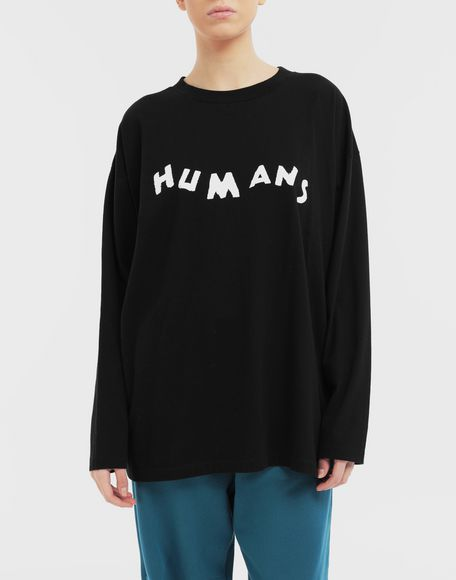 MM6 MAISON MARGIELA Sudadera 'Humans' Camiseta de manga larga Mujer r