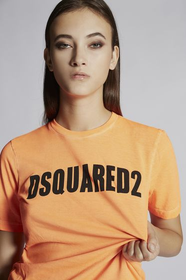 DSQUARED2 Short sleeve t-shirt Woman S72CU0922S22507217 m