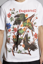 DSQUARED2 Botanic Eden T-Shirt Short sleeve t-shirt Man