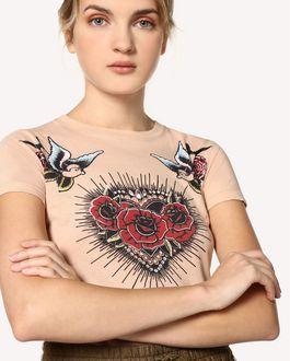 """REDValentino T-Shirt mit """"Tattoo""""-Print"""