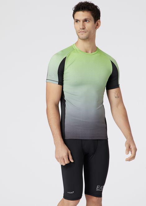 Grafik-T-Shirt aus Vigor7 Funktionsstoff