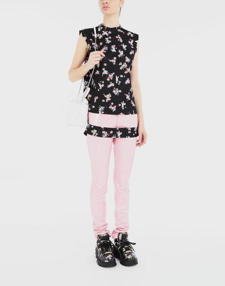 MAISON MARGIELA Kawaii-print décortiqué shirt Top Woman d