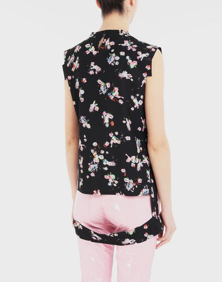 MAISON MARGIELA Kawaii-print décortiqué shirt Top Woman e