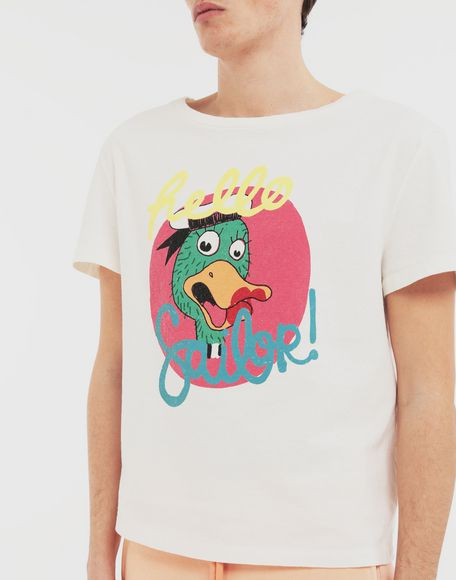 MAISON MARGIELA Sailor printed T-shirt Short sleeve t-shirt Man a