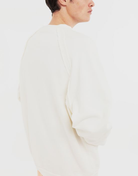 MAISON MARGIELA Sailor printed jersey sweatshirt Sweatshirt [*** pickupInStoreShippingNotGuaranteed_info ***] b