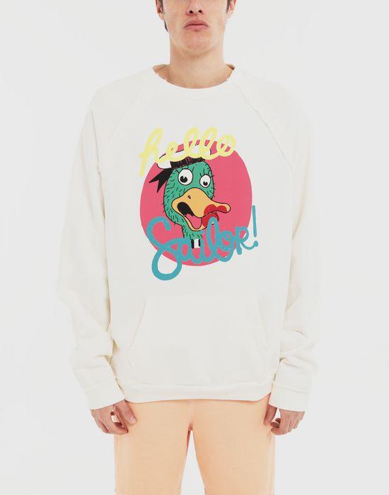MAISON MARGIELA Sailor printed jersey sweatshirt Sweatshirt [*** pickupInStoreShippingNotGuaranteed_info ***] r