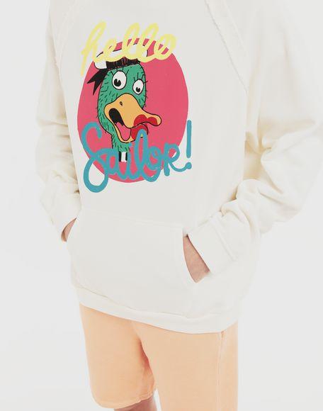 MAISON MARGIELA Sweat-shirt en jersey avec imprimé Sailor Sweatshirt Homme a