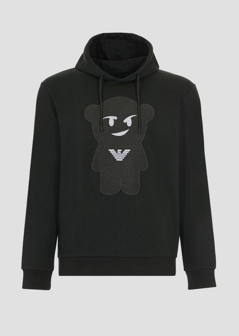 Manga Bear sweatshirt with hood