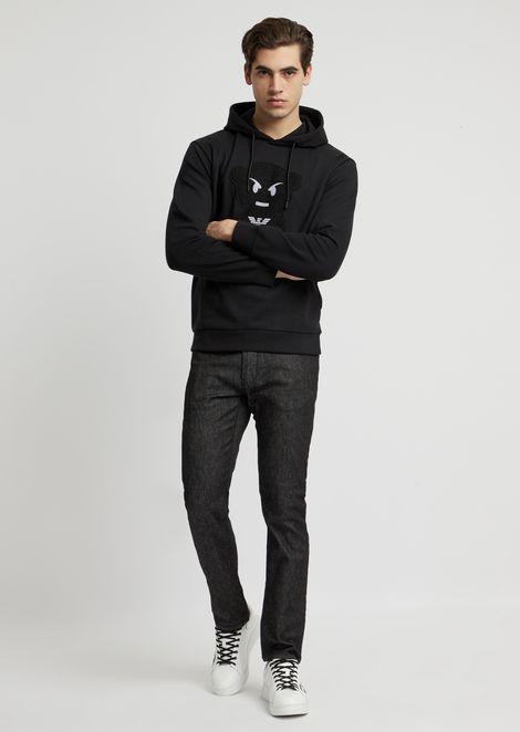 Manga Bear sweatshirt with hood