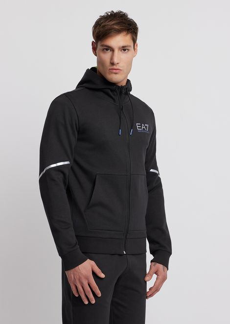Natural Ventus7 sweatshirt with reflective details