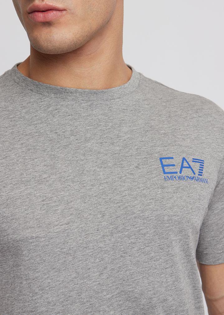 a4969f5747 Train Logo T-shirt in single jersey pure cotton