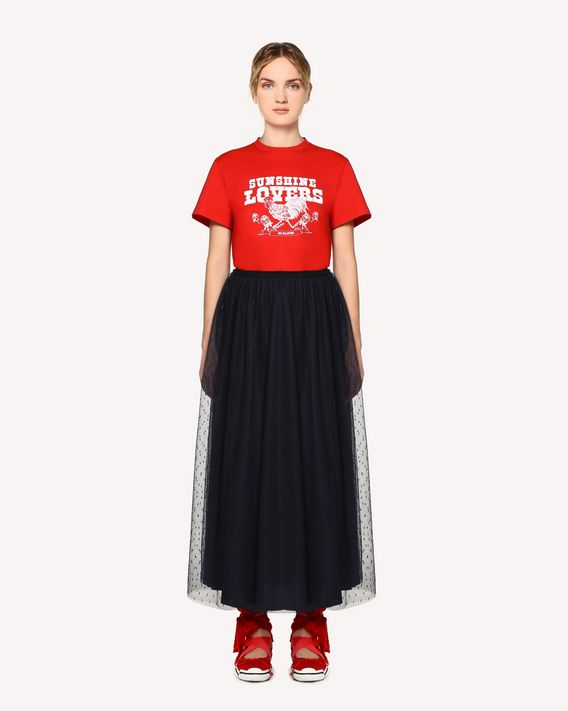 "REDValentino ""Sunshine Lovers"" printed T-shirt"