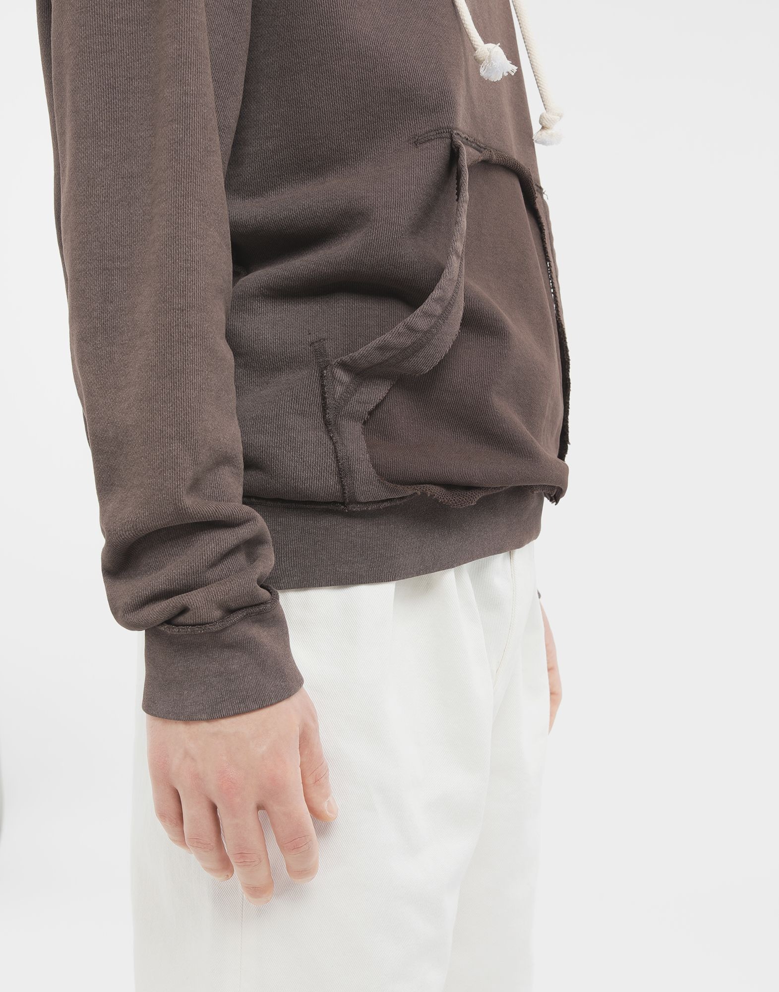MAISON MARGIELA Reversed seam cotton sweatshirt Sweatshirt Man b