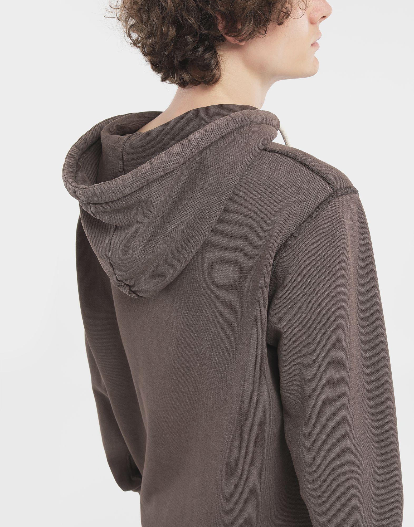 MAISON MARGIELA Reversed seam cotton sweatshirt Sweatshirt Man e
