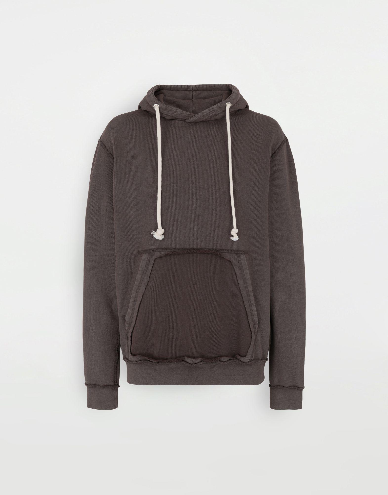 MAISON MARGIELA Reversed seam cotton sweatshirt Sweatshirt Man f