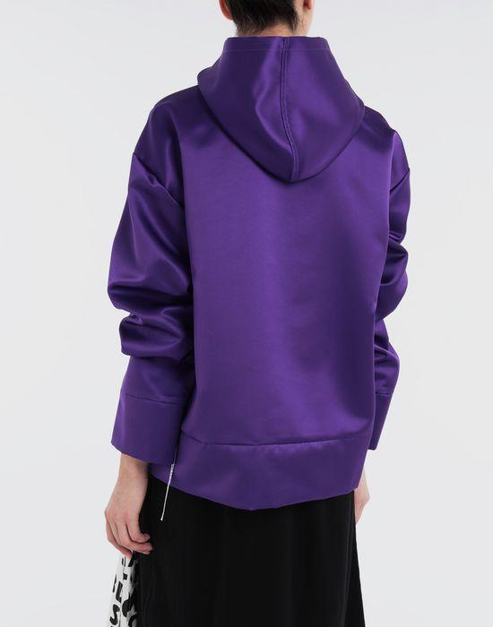 MM6 MAISON MARGIELA Logo-embellished hoodie Top [*** pickupInStoreShipping_info ***] e