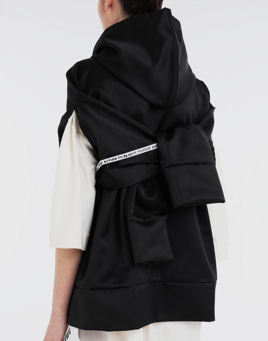 MM6 MAISON MARGIELA Logo-embellished hoodie Top [*** pickupInStoreShipping_info ***] b