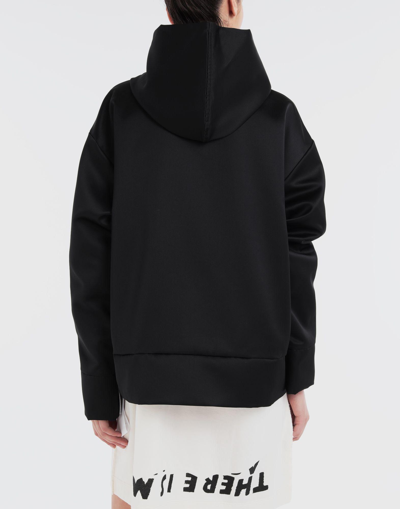 MM6 MAISON MARGIELA Logo-embellished hoodie Top Woman e