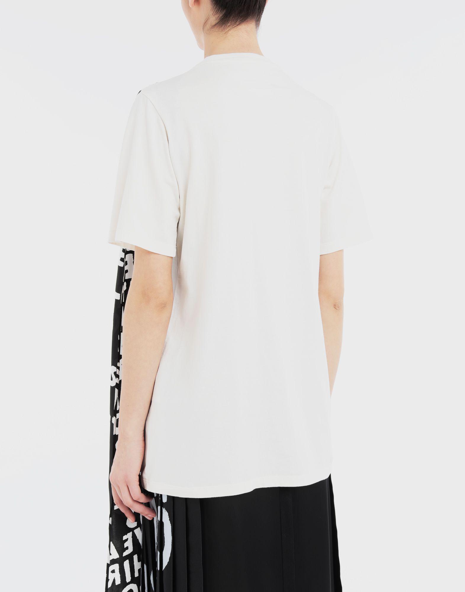 MM6 MAISON MARGIELA Scarf tie jersey T-shirt Short sleeve t-shirt Woman e