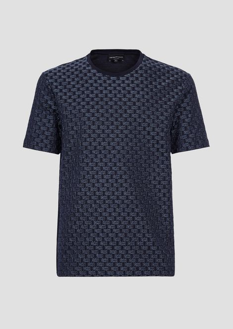 Mercerised jersey cotton T-shirt